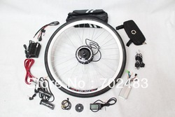 Superb Conversion Kits 36V 350W Kit Electric Bike Front Wheel with LCD Display Wheel Electric 26&quot; Special Toys Engine for Bike(China (Mainland))