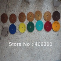 Velcro polishing pad for marble