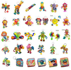 Lamaze Toy Toys 37 styles Baby Car Bed Hanging Educational Toys Sound Paper BB Device Butterfly Bee Giraffe Inchworm Sir Pirance(China (Mainland))