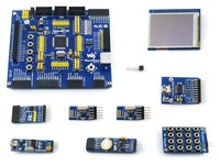 ATmega128A-AU ATmega128 AVR 8-bit RISC Evaluation Development Board + 9 Accessory Modules Kits = OpenM128 Package A