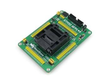 QFP144 LQFP144 STM32F10xZ STM32L1xxZ STM32F2xxZ STM32F4xxZ Yamaichi IC Test Socket Programming Adapter 0.5mm Pitch