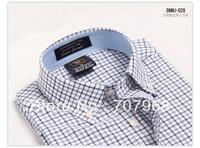 2013 men's 12 pink solid color short-sleeve shirt slim male shirt