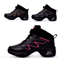 size 35-40 Ladies' Dance Shoes.Genuine Leather woman dancing sneakers. walking shoes dc1054