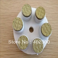 Concrete floor grinding head discs