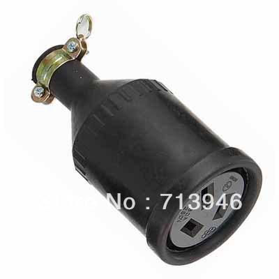 20a 250v Plug Wj-7320b 3p 20a 250v Rubber