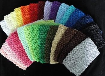 solid  colored crochet headbands--60PCS/LOT