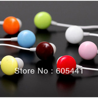 Free Shipping +cholocate in-Earphone Headphone Headset for ipod mp3/mp4 phone cheapest earphone 10pcs/lot