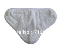 Free Shipping! 100PCS/LOT X5 STEAM MOP MICROFIBRE CLOTHS, SOFT MOP PADS, WASHABLE VELCRO FITTING