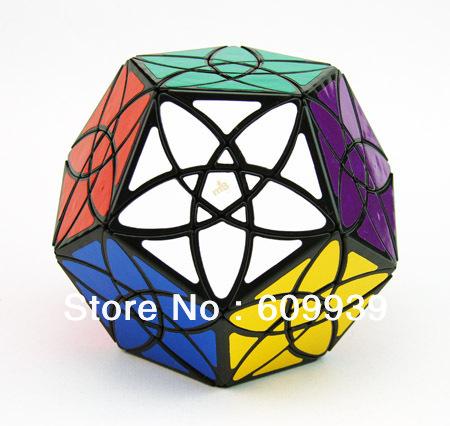 MF8 Magic Cube Bauhinia Dodecahedron Black Body(C