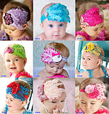 Fashion top baby headband hair accessory hair accessory 10 pcs/lot