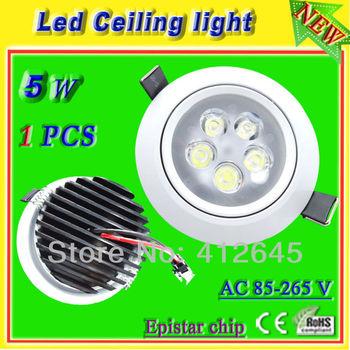 high power 5x1w 5w led spotlight ceiling lamp ac 110v 220v 230v 240v surface mount led fixture for decoration indoor lighting