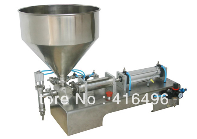 Auto vertical piston filling machinery-500ml,cosmetic,oil,food,medical,pasty product bottle package filler,manual handle spare(China (Mainland))