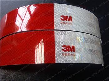 50mm Width High Reflective Diamond Grade Orginal 3M Reflective Tape for Car Use
