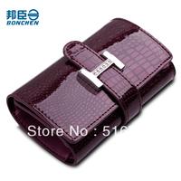 Women's handbag 2012 crocodile pattern women's key wallet purse 3 card key