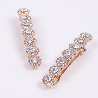 2012  fashion boutique  vintage  rhinestone hair clip crystal bobby pin beauty hairpin hair jewelly.free shipping.