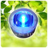 Outdoor Solar Lamp Garden Path Lighting IP68 waterproof grade five colors steady mode 50pcs/lot Free shipping