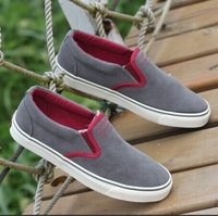 Newest Quality Canvas for men fashion sneakers sport shoes male tide of flats popular men's casuals foot wrapping single shoes