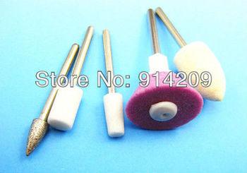 Free Shipping! 2pcs/ lot 5 in One Salon Shaper Professional Manicure Set Pedicure Nails Nail art tools