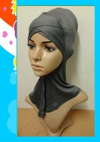 (free shipping)new underscarf,,muslim hijab cap,inner cap,34 mixed colors ,factory price
