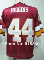 Free Shipping #44 John Riggins Throwback Jersey,American Football Jersey,Embroidery and Sewing logo,Size M--3XL,Mix Order