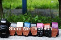 Wholesale!!Kroean style camera shoulder strap fit for GF6 GX1 650D 600D NEX5R NEX6 D3100 D5200 D90 5D3 DSLR camera hand strap SW