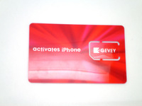 new arrival universal activate SIM card for Apple iPhone 4/3G/3GS