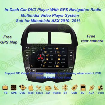 2010, 2011 Mitsubishi ASX GPS Navigation DVD Player ,TV,Multimedia Video Player system+Free GPS map+Free shipping!!!