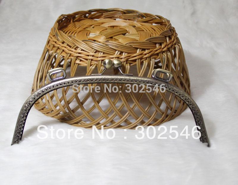 10pcs 25cm Metal internal purse frames wholesale and retail F2218(Hong Kong)