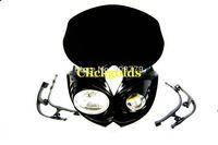 Dirt bike street fighter Motorcycle Universal Headlight Head light dual sport lamp Free shipping