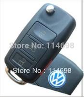 3+1 Button Flip Remote Key for VOLKSWAGEN VW (1J0959753AM, 1J0959753DC, 1J0959753T, 1K0959753P)