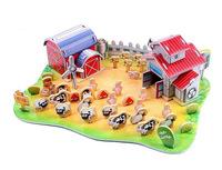 Children Puzzle 3D puzzle-Pasture