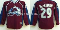 Cheap Kids NHL Jerseys Colorado Avalanche #29 Nathan MacKinnon Youth Ice Hockey Jersey,Size S-XL