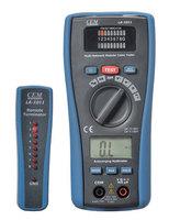 Free Shipping!!Brand CEM LA-1011 2 in 1 RJ45/RJ11 LAN Tester & Multimeter 10 Base-T 10 Base-2