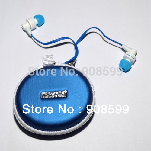 Наушники для мобильных телефонов ES700i aWEI iPhone 5 4 4s samsung s3 s4,  E700i петля резиновая starfit es 801 цвет фиолетовый 208 х 6 4 х 0 5 см