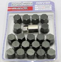VOLK RAYS 35MM WHEELS LOCK LUG NUTS 12X1.25 1.25 ACORN RIM FORGED DURA 20 GUN METAL S