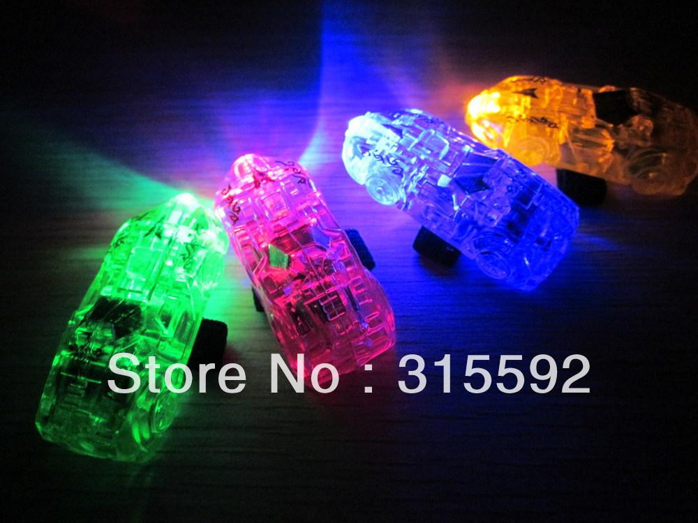 Free Shipping 80pcs/lot (20sets)4.5*1.5*1.5cm laser finger beams flashing finger lights led finger lamp for Christmas(China (Mainland))