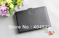 "7"" leather case for Q88 epad E note android tablet PC sanei ainol novo onda cube newman"