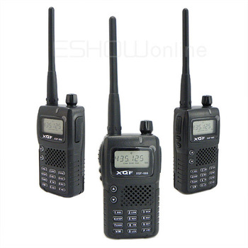 New 5W 128CH single band UHF/VHF Walkie Talkie Two-Way Radio Q-666 Interphone Transceiver with FM Mobile Portable A0854A Alishow