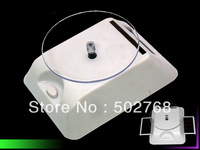 solar powered LED rotating display for digital products,jewelry etc. free shipping