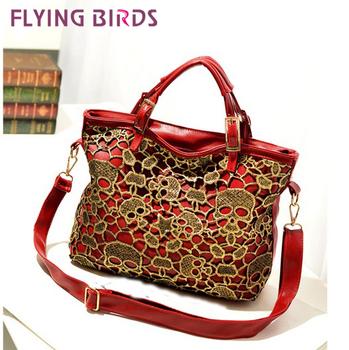 FLYING BIRDS 2012 Best Selling Women Fashion Rivet Handbag Messenger Bags Retro Shoulder Bag HC046