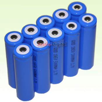 (10PCS) 5000mAh  3.7V 18650 NCR Li-ion Rechargeable Battery Cell Pack  For UltraFire LED Flashlight Torch Flash Light...