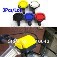 3Pcs/Lot Electronic Cycling Bicycle Bike Alarm Bell Horn Loud Free Shipping 4299 B002