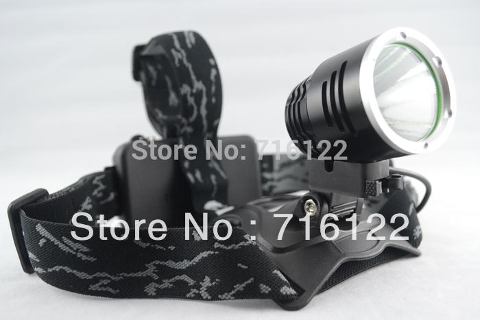 Лампа для головы 1600 lumens CREE XML T6 LED Aluminum alloy Headlamp Head Torch Lamp light Flashlight 3 Mode black new+AC Charger