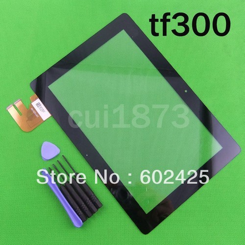 Para brand new 10.1'' polegadas asus eeepad transformador tf300t tf300 g01& g03 touch screen painel digitador