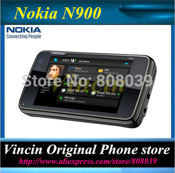 Lowest price Nokia N900 original unlocked phone GSM 3G GPS WIFI 5MP 32GB internal memory support Russian keyboard