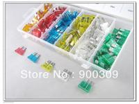 Free Shipping 200PC 5,10,15,20,25,30A Car & Auto Fuse Kit/Assortment/Set