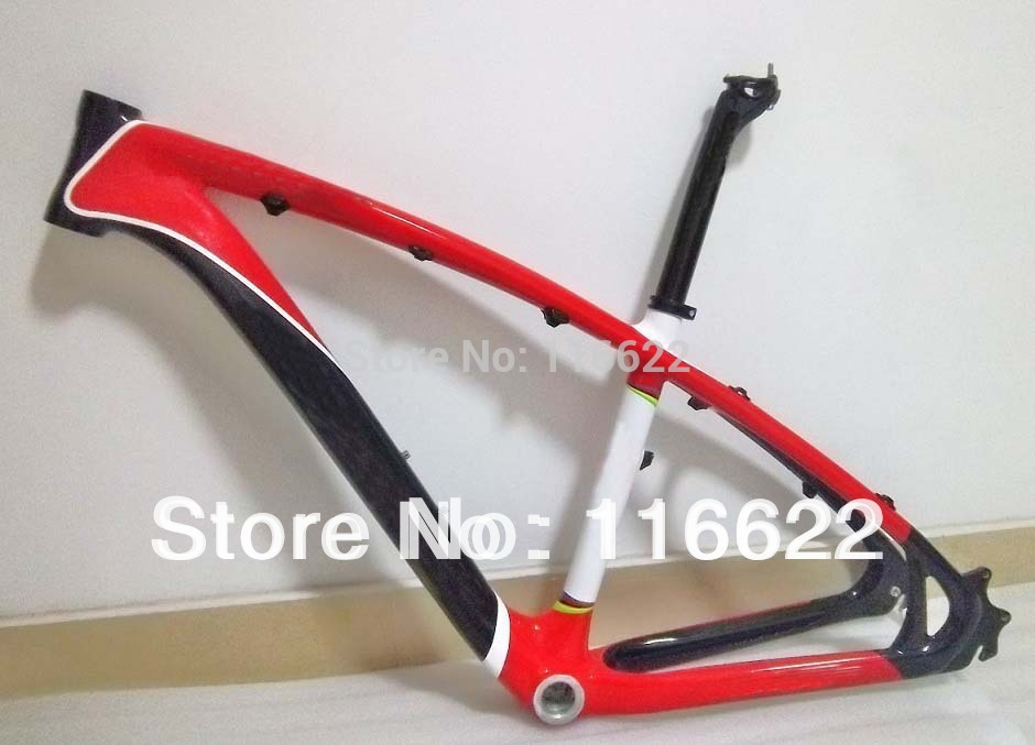 "MTB Mountain frame Bike /Bicycle 26er Frame SIZE 16"" / 18""/20"" MTB Frame with full carbon(China (Mainland))"