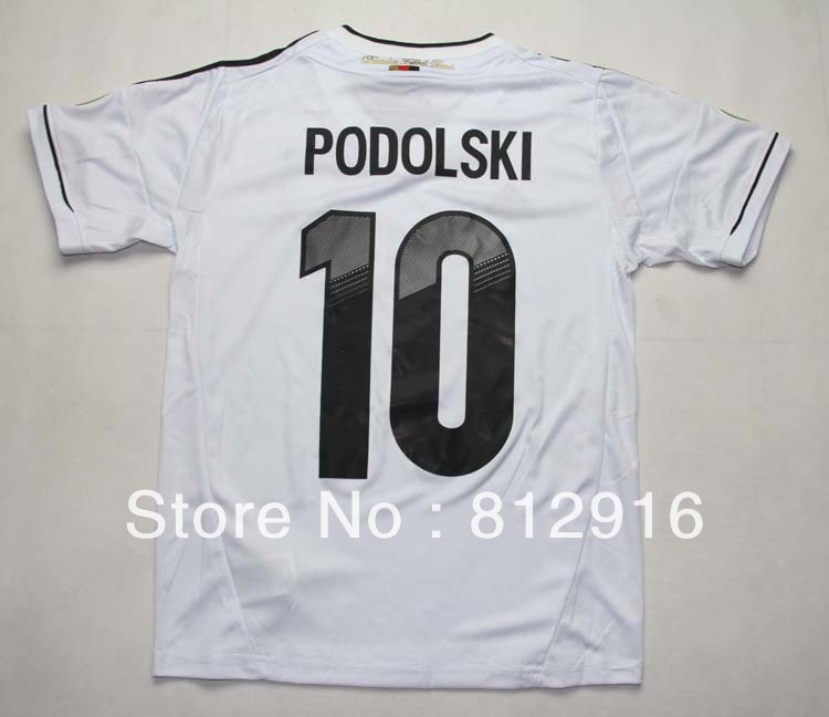 Free shipping 2012 the German national team home children soccer jersey suit children sportswear(China (Mainland))