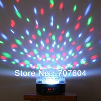 Mini LED Stage Light RGB Crystal Magic Ball Effect light DMX 512 Control Pannel Disco DJ Party Stage Lighting Free Shipping 1pc