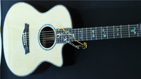 free shippng high quality 916ce model electric acoustc guitar with B-band professional EQ AAAA SOLID TOP